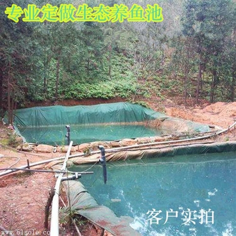 对虾养殖帆布水池 养殖水池图片 水池安装图