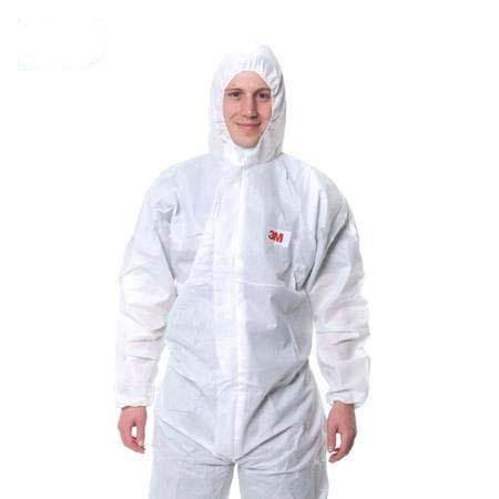 3M 4515白色带帽连体防护M