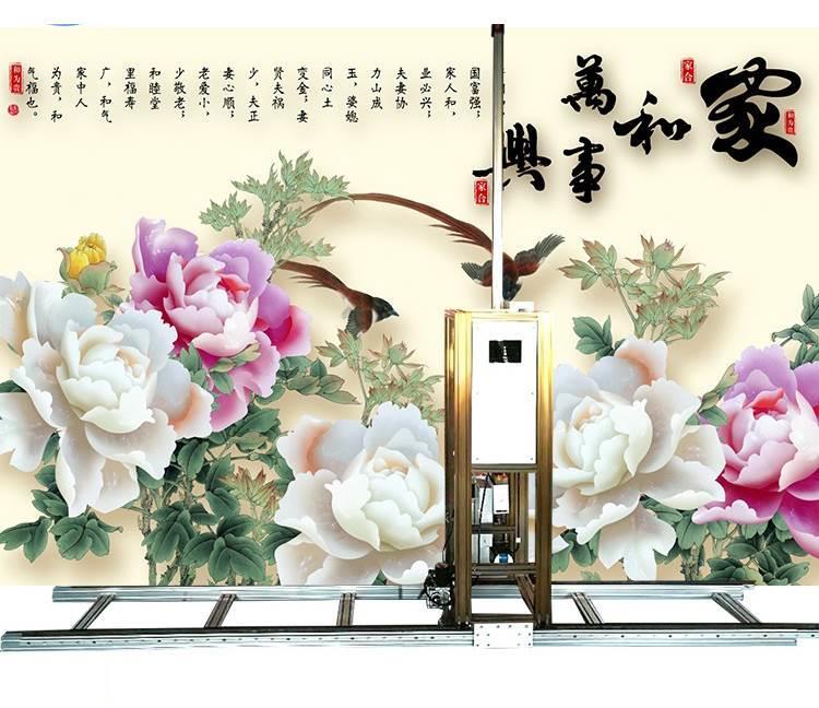 合众智能HZ2050室内户外3d墙体彩绘机