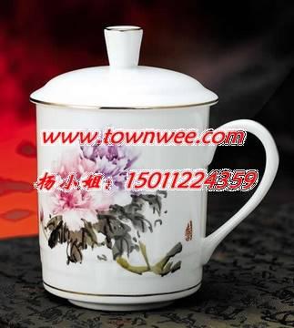 陶瓷广告杯-唐山骨瓷餐具-陶瓷马克杯定制-高档礼品杯子-陶瓷会议