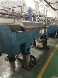 济宁回收12台 污水处理离心机  不锈钢刮刀离心机