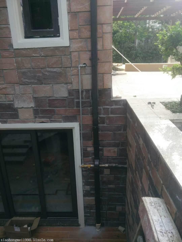 �X合金方形落水管�e墅排水系�y