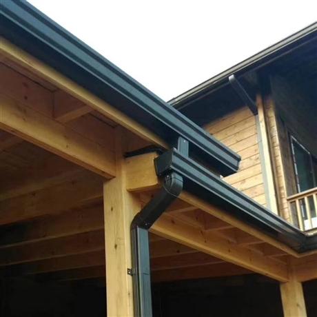 鋁合金方形落水管別墅排水系統