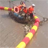 定做河口拦污装置浮式拦污排批发