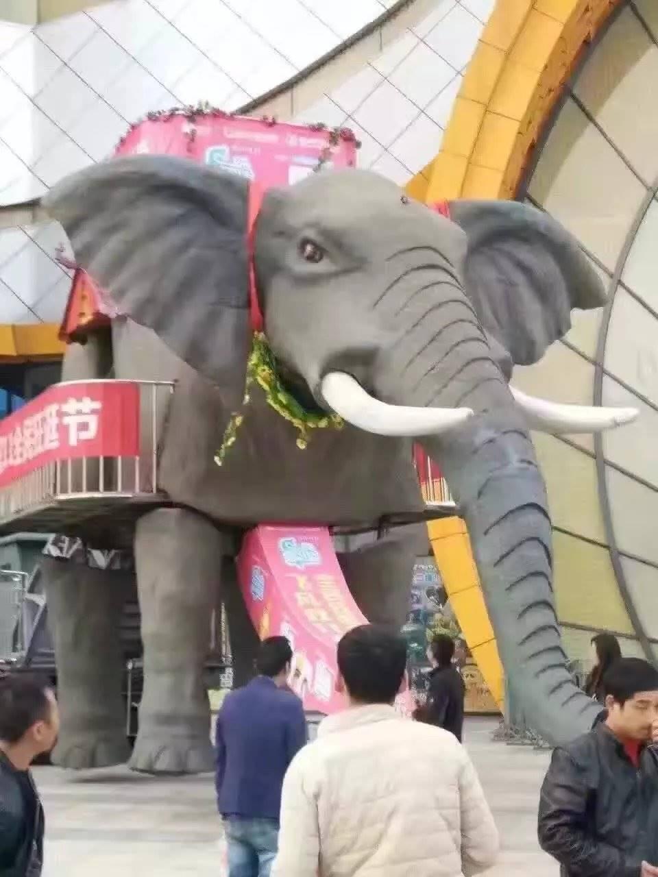 高端霸气机械大象出租