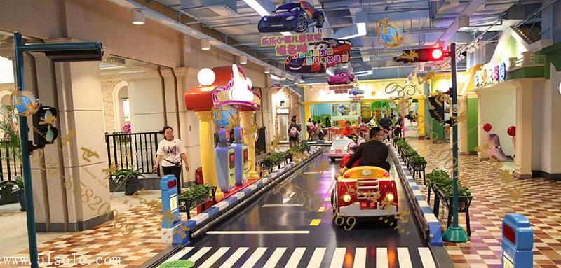汽車交通小鎮兒童模擬駕1校室內親子樂園