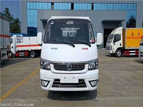 微型1吨东风途逸 便宜的气瓶运输车 小的易燃气体厢式车