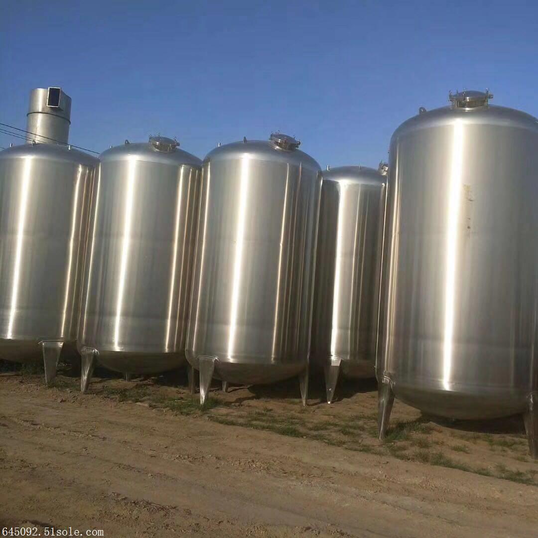 5立方食品厂304不锈钢储罐批量到货