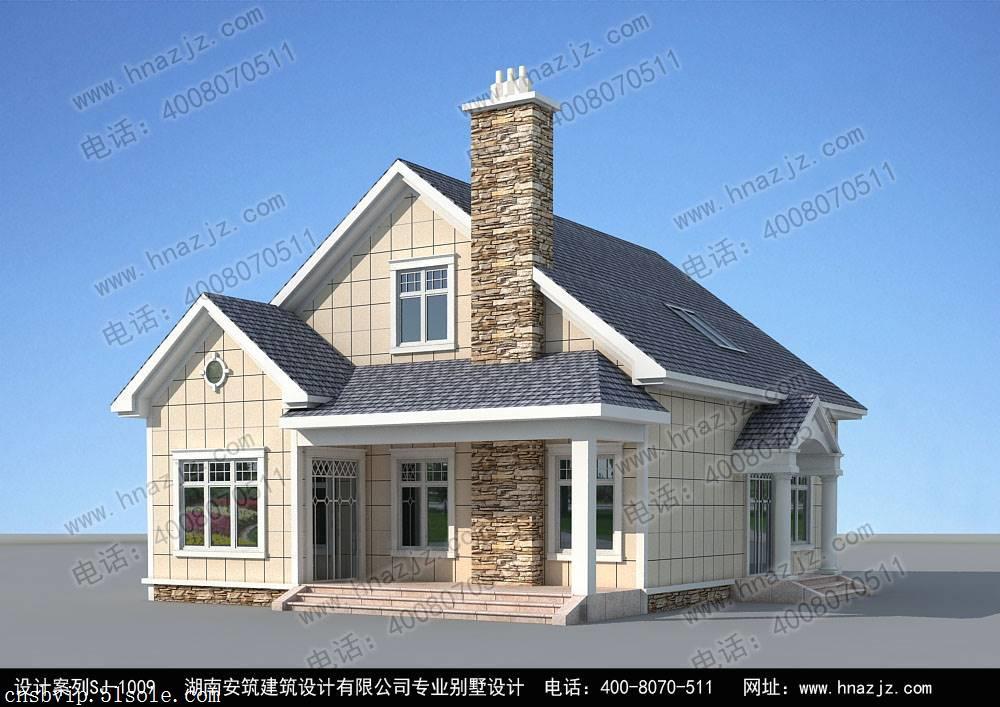 实用的一层别墅设计图纸, 安筑建筑私人订制案例