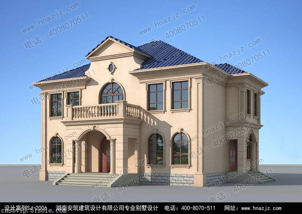 首页 湖南安筑建筑设计有限公司 建房知识 安筑建筑二层小别墅设计
