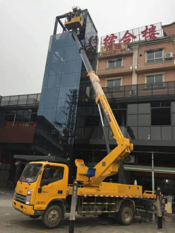 珠海香洲地区的吊篮车 8吨吊车出租
