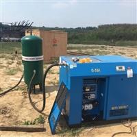 武汉喷砂机空压机配套专用储气罐价格