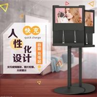 21.5寸机场商场手机充电广告机 手机充电站 充电广告机定制