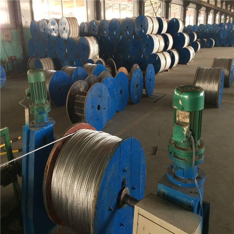湖北鄂州7股热镀锌钢绞线-19股热镀锌刚钢绞线