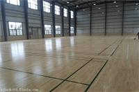 篮球场体育木地板价格