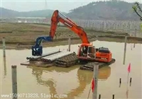 潜江水陆两用挖掘机出租