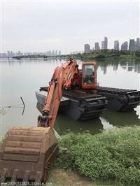 水路两用挖掘机改装