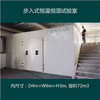 富易达步入式恒温恒湿试验室BTHP-18