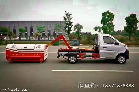 街道勾臂垃圾车厂家直销  ,东风天锦16吨勾臂垃圾车价格