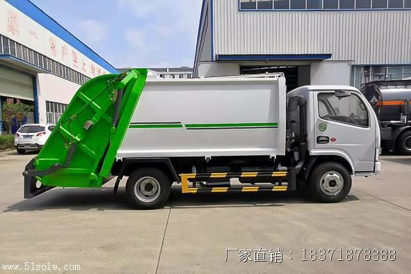 东风多利卡压缩垃圾车哪家好 ,压缩垃圾车厂家