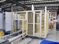 自动化机械铝型材安全围栏 车间安全防护铝合金加工制作