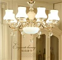 现代奢华大气高档客餐厅卧室吊灯