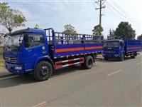 东风5米7吨栏板厢式气瓶运输车-湖北江南制造