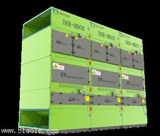 废气治理设备/模块式VOCs处理装置/青岛德尔