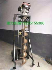 水泥杆钻孔机械多功能挖坑机高效