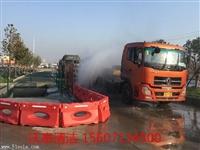武汉工地自动冲洗平台 工地平板式洗轮机