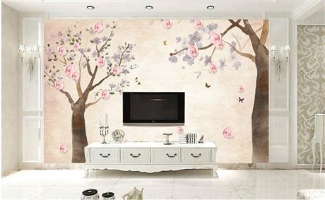 深圳儿童房墙绘 家庭装饰墙 纯手墙绘 追梦墙绘
