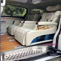 別克GL8改裝航空座椅木地板邁巴赫燈迎賓踏板適用于威霆唯雅諾等