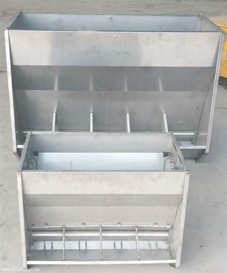 不锈钢料槽大猪食槽喂食槽采食槽