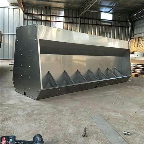 不锈钢料槽仔猪食槽双面料槽