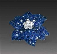 蓝宝石胸针收藏价值分析