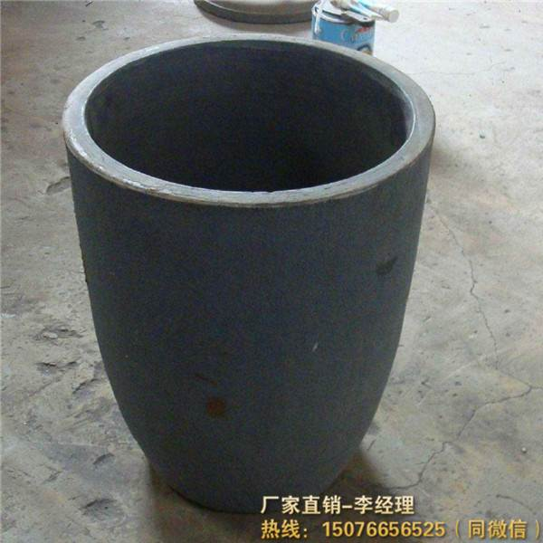焦炭炉熔铝石墨坩埚度