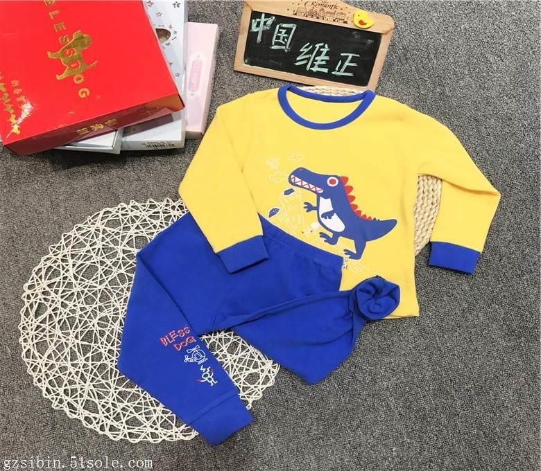 冬季童装蓝狗家儿童睡衣一手货源批发渠道