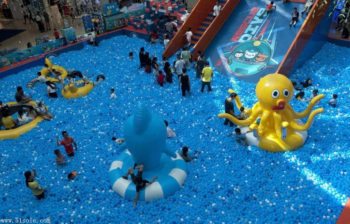 空心玩具球出租 儿童海洋球厂家 百万海洋球池乐园