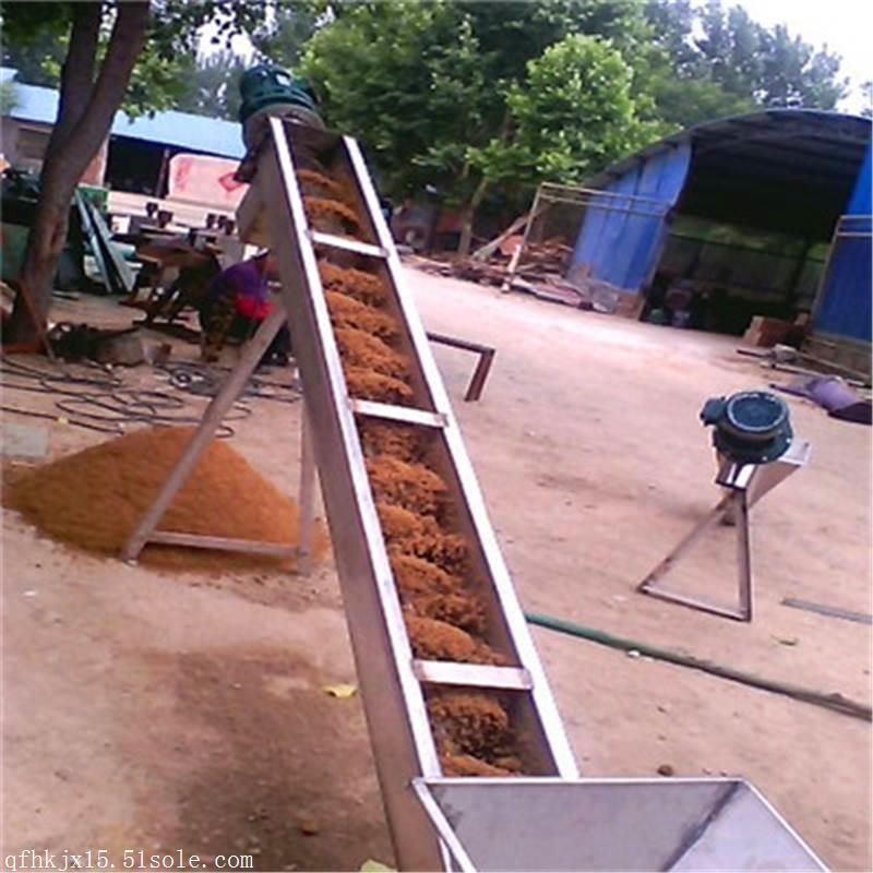 219管徑3米長不銹鋼絞龍提升機 廠家報價