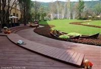 新疆户外防腐木地板 尺寸定制 批发价格 用途最广 规格齐全