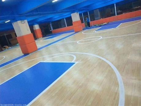 塑胶地板广州健步pvc塑胶地板环保无甲醛 Pvc塑胶运动地板