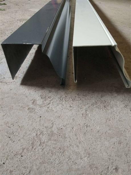 彩鋁天溝水槽南京鋁合金下水管