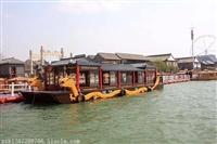 出售山东龙堤码头14米双龙画舫船/电动游船/观光船