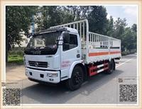 6.9吨气瓶运输车批发价格 东风5.1米气体车湖北改装