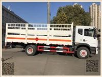 火热销售东风7.5吨易燃气体厢式车