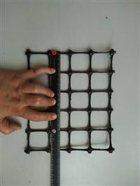 外贸专用双向拉伸塑料土工格栅宽度六米