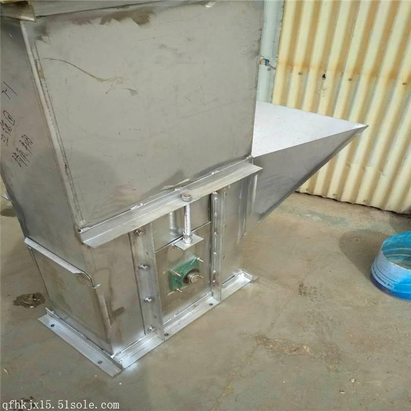 兴运厂家按需加工 鸡粪耐腐蚀塑料斗输送机
