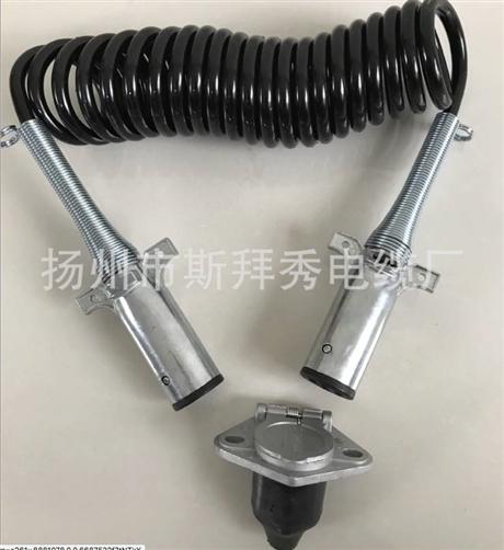 斯拜秀螺旋电缆 弹性好 耐寒耐高温定制