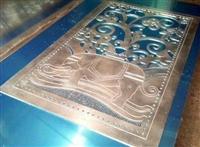 雕花铝单板,艺术镂空板屏风价格,窗花装饰材料供应
