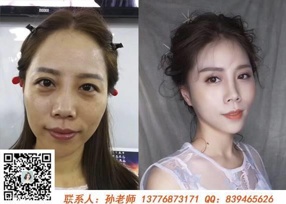 常州武进区纹绣影楼妆培训